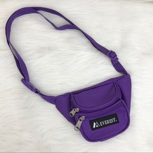 EVEREST 90s Purple Fanny Pack | OS